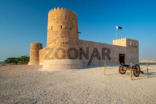 Entrance of Al Zubarah fort, Qatar