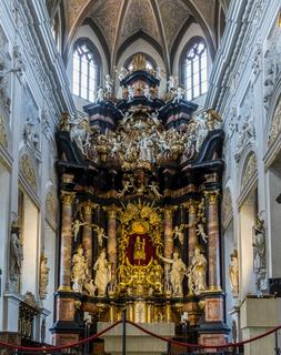 Altar in Bamberg Kirche Obere Pfarre