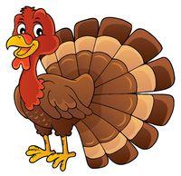 Turkey bird theme image 1