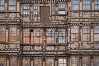 Hildesheim - Renaissancefassade, Wedekindhaus, Deutschland