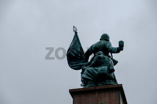 Soviet Memorial Statues