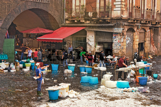 Catania Fischmarkt