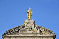 statue of Virgin Mary, Basilica Santa Maria degli Angeli, Assisi, Italy, Europe