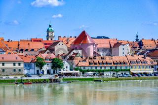 Lent district in Maribor, Slovenia