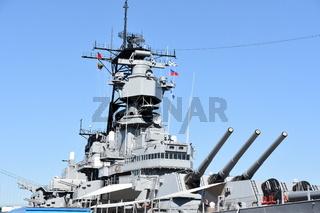 USS Iowa BB-61 in San Pedro, California