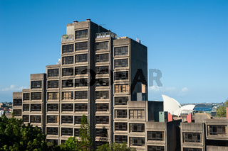 Sydney, Australien, Sirius-Gebaeude Wohnanlage im Stadtteil The Rocks