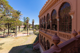 Sucre Bolivia Glorieta castle view from the terrace