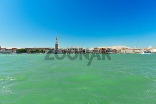 Sunny Venice in spring