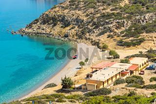 The Korfos beach