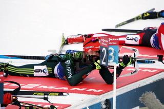 IBU Biathlon Staffel Herren Ruhpolding 2019
