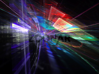 Abstract space background - digitally generated image