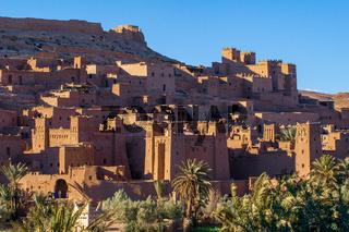Berühmte befestigte Stadt Ait Ben-Haddou in Marokko