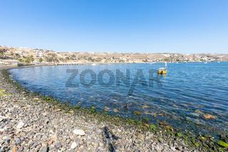Chile Coquimbo bay called La Herradura