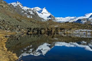 Am Stellisee, Zermatt, Wallis, Schweiz