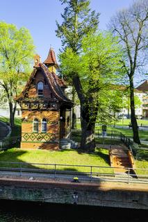 SchleusenwŠaerterhaus, Rathenow, Brandenburg, Deutschland