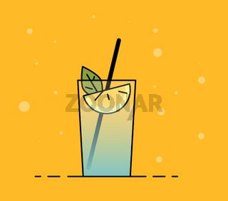 Shake illustration. Color picture - Vektorgrafik