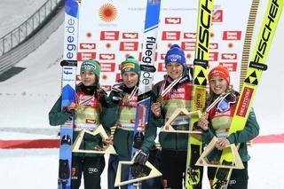 Teamspringen Frauen FIS Nordische Ski-WM 2019 Seefeld