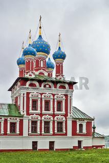 Church of tsarevitch Dmitry on blood, Uglich