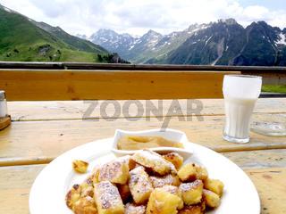 Kaiserschmarrn in Tirol, Österreich